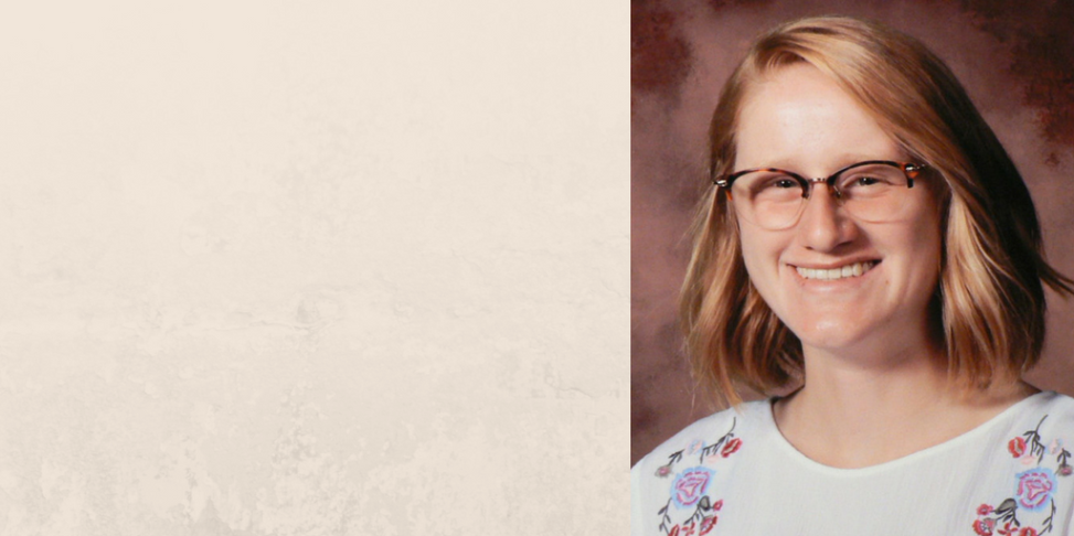 Charlotte Borland Named 2018 Lilly Endowment Community Scholar